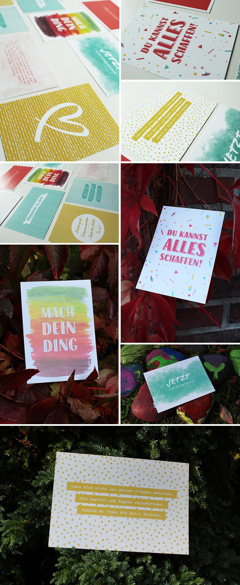 """Postkarten-Set """"Mach dein Ding!"""""""
