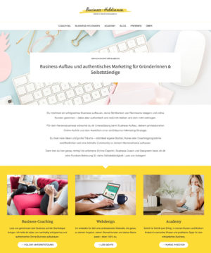 Webdesign Businessheldinnen